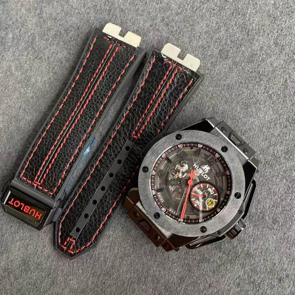 V6 Factory Replica Hublot Big Bang Ferrari F11 Ceramic Watch – Racing Passion on Your Wrist