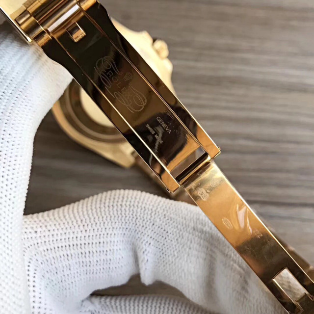 VR Full Gold Rolex Submariner Clasp