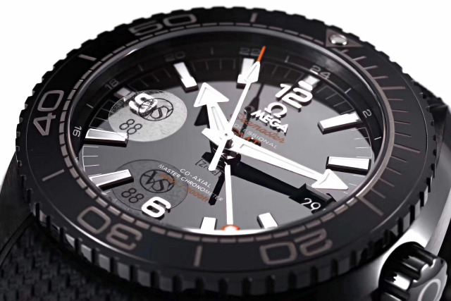 VS Replica Omega Planet Ocean Black Ceramic Bezel