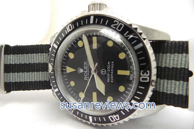 Vintage Submariner Black Dial