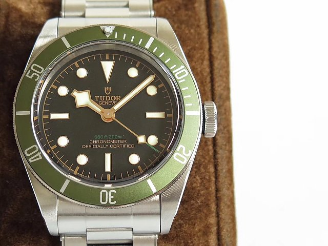 ZF Replica Tudor Heritage Black Bay Green