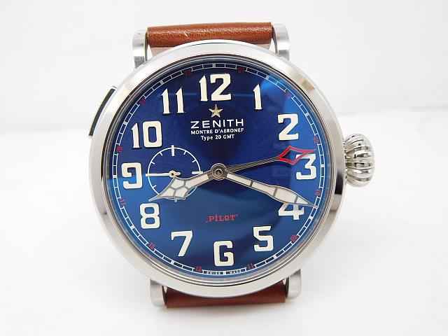 REPLICA ZENITH PILOT MONTRE D'AERONEF TYPE 20 GMT WATCH