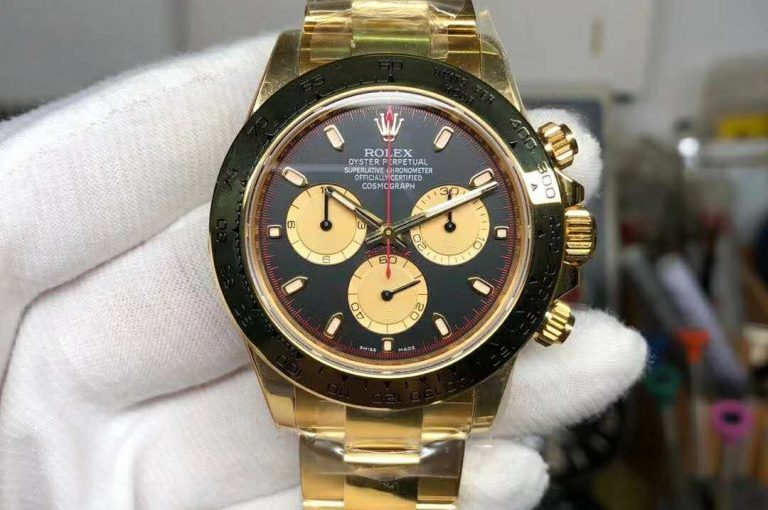 Noob yellow gold Daytona looks good review