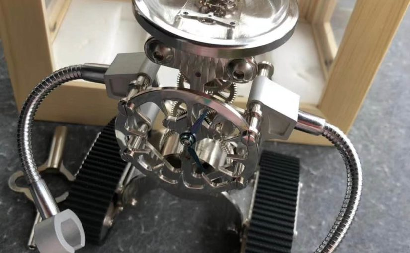 Z Factory Released Revolutionary MB & F Sherman Happy Robot Clock Review